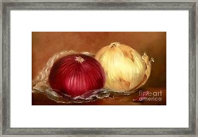 The Onions Framed Print