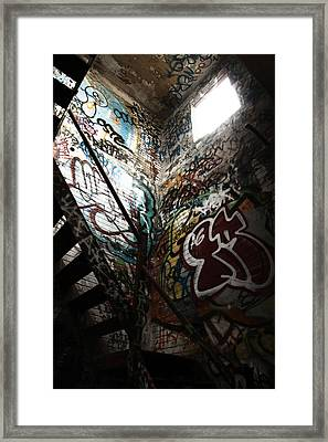 The Only Way Out  Framed Print by Kreddible Trout