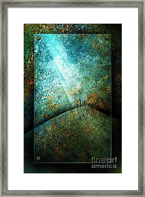 The Only Way Framed Print by Shevon Johnson