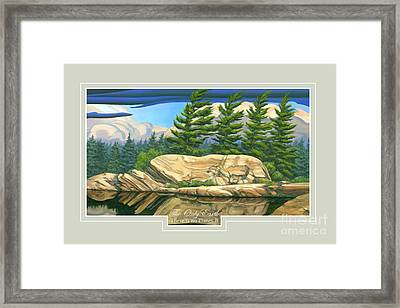 The Only World Framed Print by Michael Swanson