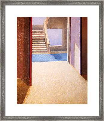 The Open Door Framed Print by Gloria Cigolini-DePietro