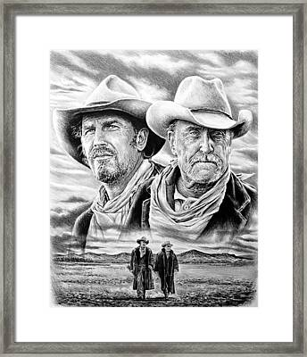 The Open Range Framed Print