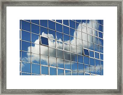 The Open Windows Framed Print by Tim Gainey