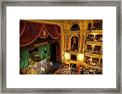 The Opera House Of Budapest Framed Print by Madeline Ellis