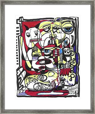 The Operation Framed Print by Robert Wolverton Jr