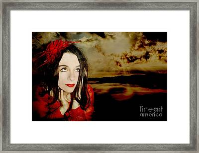 The Opioid Called Optimism Framed Print by Heather King