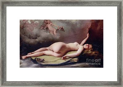 The Opium Smoker Framed Print by Reproduction