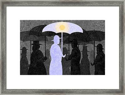 The Optimist Framed Print by Steve Dininno