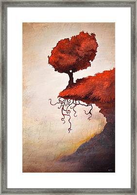 The Optimistic Crag Framed Print by Ethan Harris