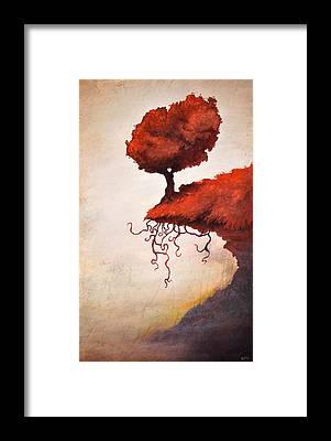 Cliff Framed Prints