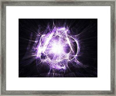 The Oracle #art #abstract #digitalart Framed Print by Michal Dunaj