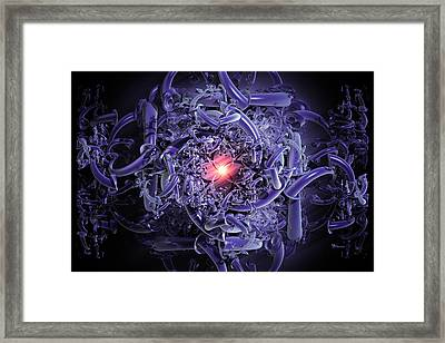 The Oracle Framed Print by Max Steinwald