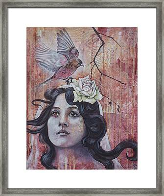 The Oracle Framed Print by Sheri Howe