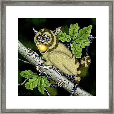 The Orbler Framed Print