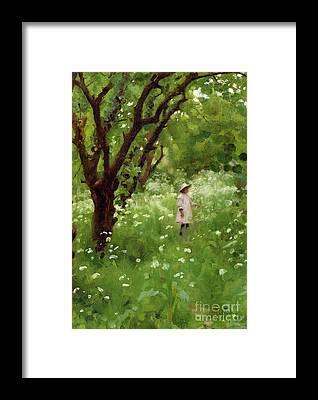 Pinafore Framed Prints