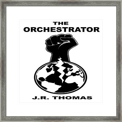 Framed Print featuring the digital art The Orchestrator Cover by Jayvon Thomas
