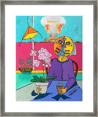 The Orchid 2024 Framed Print