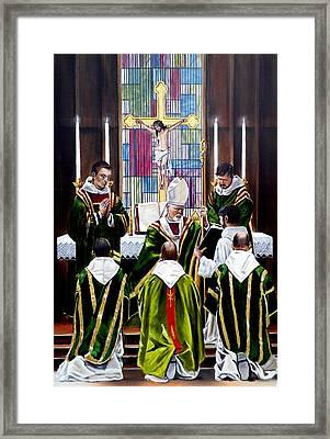 The Ordination Framed Print