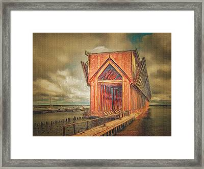 The Ore Is Gone Redux Framed Print