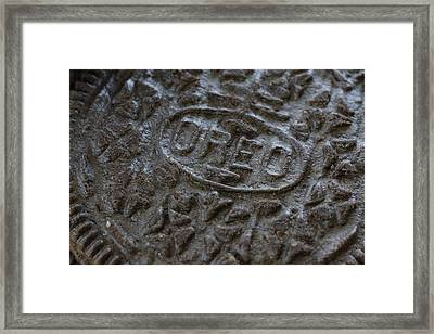 The Oreo Session Framed Print by Jeff Roney