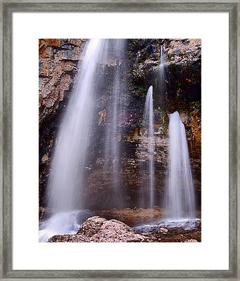 The Origin Framed Print by Kevin Munro