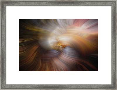 The Origin Of Life Framed Print by Debra and Dave Vanderlaan