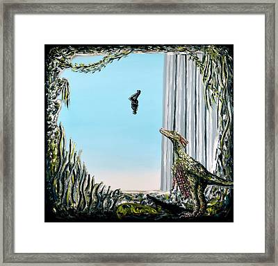 The Origin Of Species -a Recurring Pattern- Framed Print by Ryan Demaree