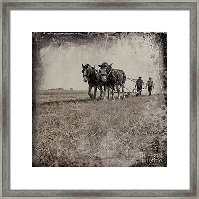 The Original Horsepower Framed Print