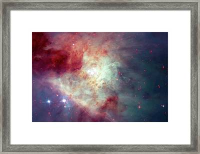 Framed Print featuring the photograph The Orion Nebula #3 by Nasa