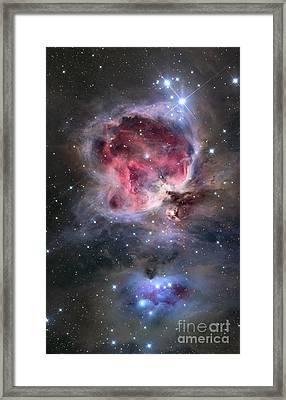 The Orion Nebula Framed Print