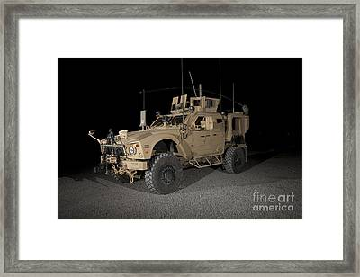 The Oshkosh M-atv Framed Print by Terry Moore