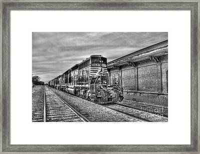 The Other Iron Horse Locomotive 1637 Norfolk Southern Framed Print by Reid Callaway