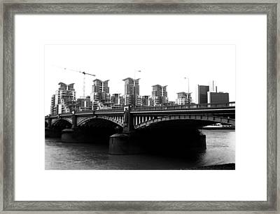 The Other Land Framed Print by Jez C Self