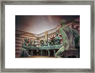 The Other Last Supper In Milan Italy Framed Print