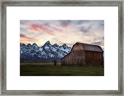 The Other Moulton Barn Framed Print