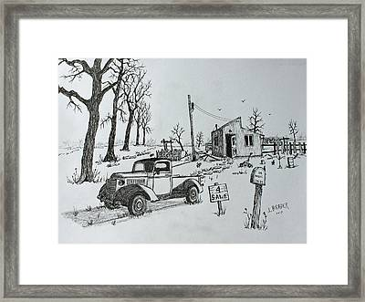 The Other Place  170226 Framed Print
