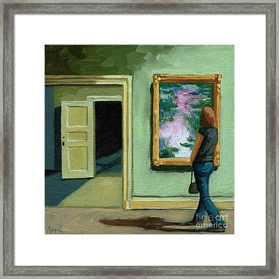 The Other Room Framed Print by Linda Apple