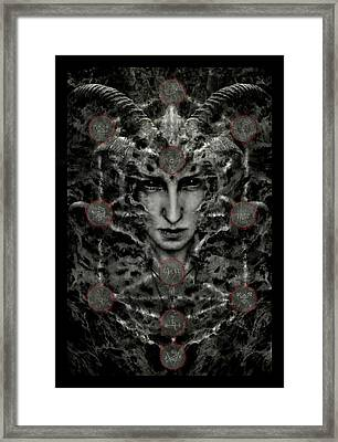 The Other Side Framed Print by Cambion Art
