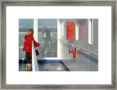 The Other Side Framed Print by Jez C Self