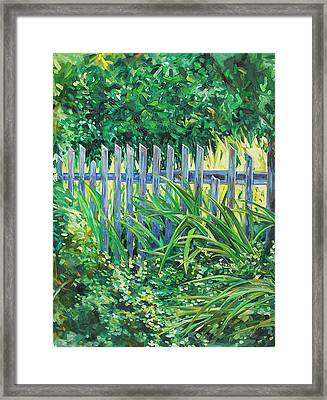 The Other Side Framed Print by Karen Doyle