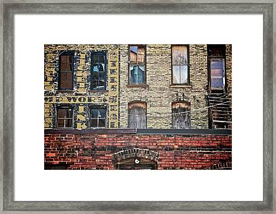 The Other Side Framed Print by Odd Jeppesen