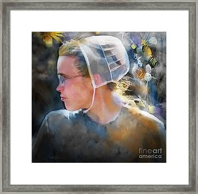 The Other Side Of Life... Framed Print