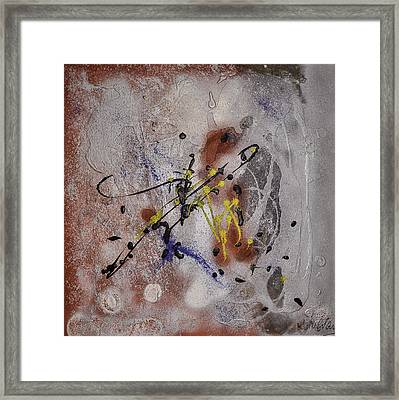 The Other Side Of The Brain#2 Framed Print