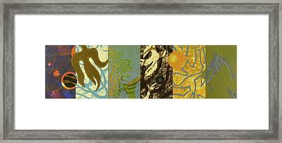 The Other Side Of The Sky Series II 2 Framed Print by David Jansheski
