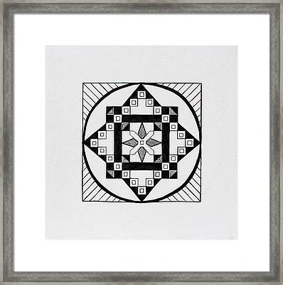 The Other Side Of The Sun Framed Print
