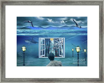 The Other Side.. Framed Print