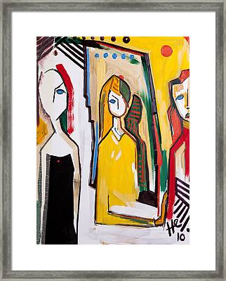 The Other Woman 40x30 Framed Print