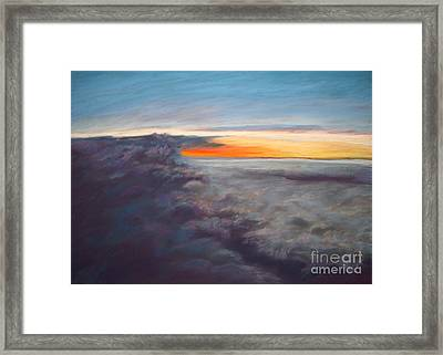 The Other World Framed Print by Addie Hocynec