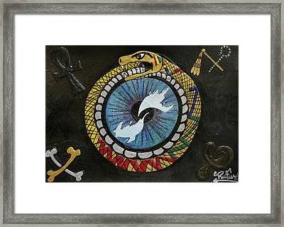 The Ouroboros Framed Print