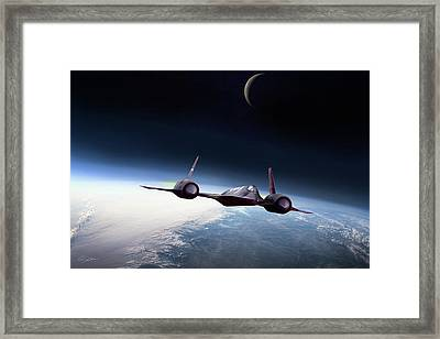 The Outer Limits Framed Print